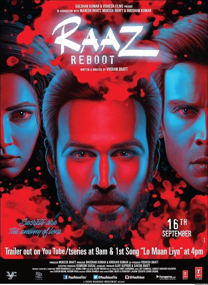 عودة راز 2016 فيلم Raaz Reboot الهندي مترجم للعربية + تقرير