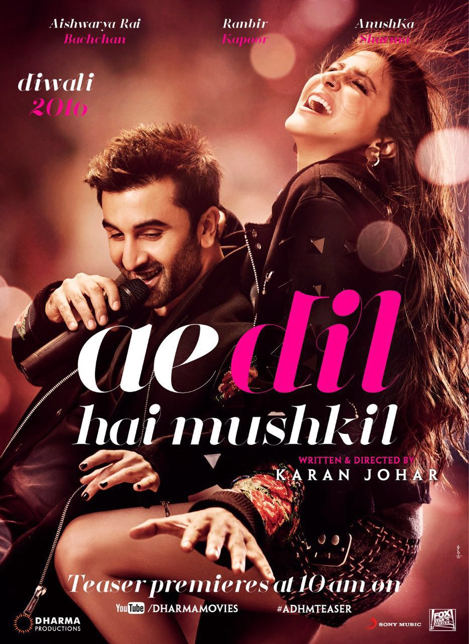 قلب صعب 2016 فيلم Ae Dil Hai Mushkil الهندي مترجم للعربية + تقرير