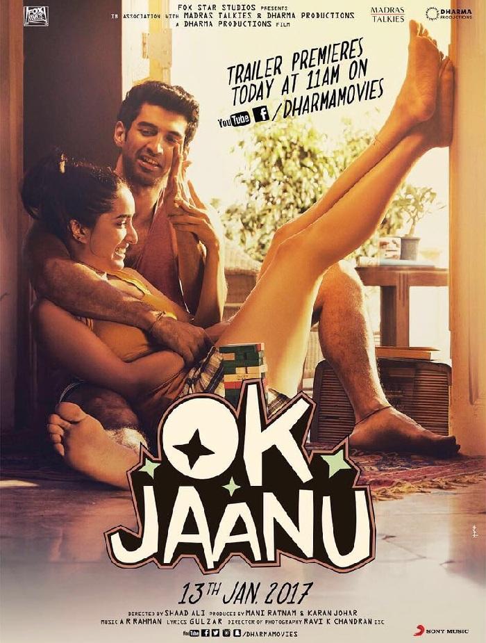 أوك جانو 2017 فيلم OK Jaanu الهندي مترجم للعربية + تقرير