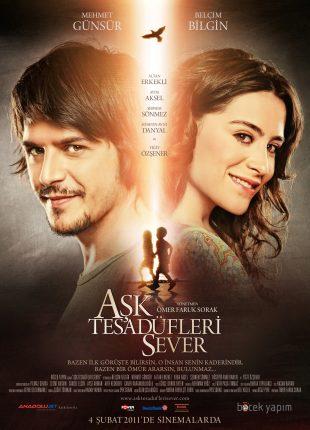 Ask Tesadüfleri Sever 2011 فيلم الحب يعشق الصدف التركي مدبلج للعربية + تقرير