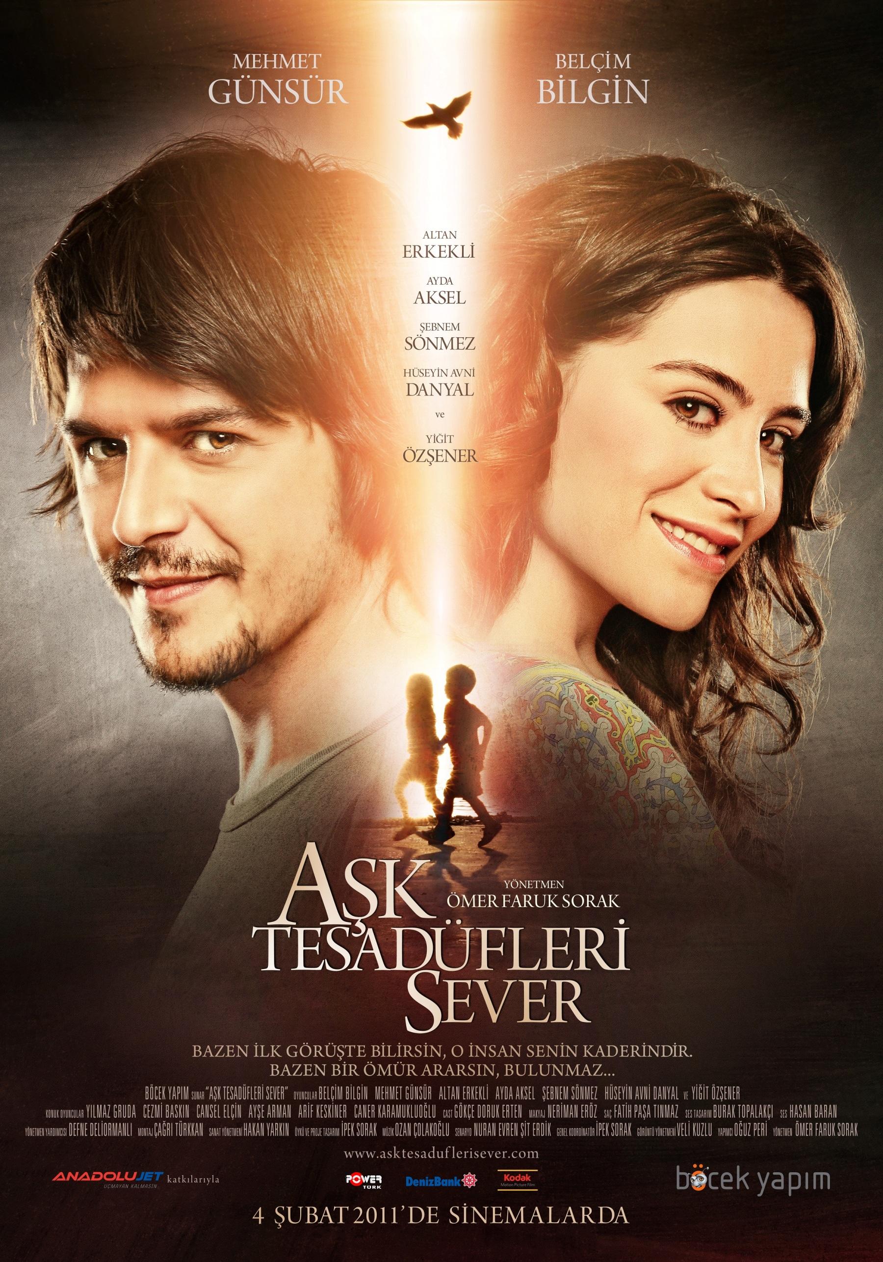 فيلم الحب يعشق الصدف Ask Tesadüfleri Sever