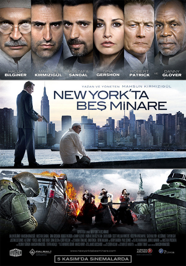 """2010 الفيلم التركي """"خمس مآذن في نيويورك"""". تقرير عن الفيلم + صور للأبطال + مترجم أونلاين . خمس مآذن في نيويورك مترجم."""