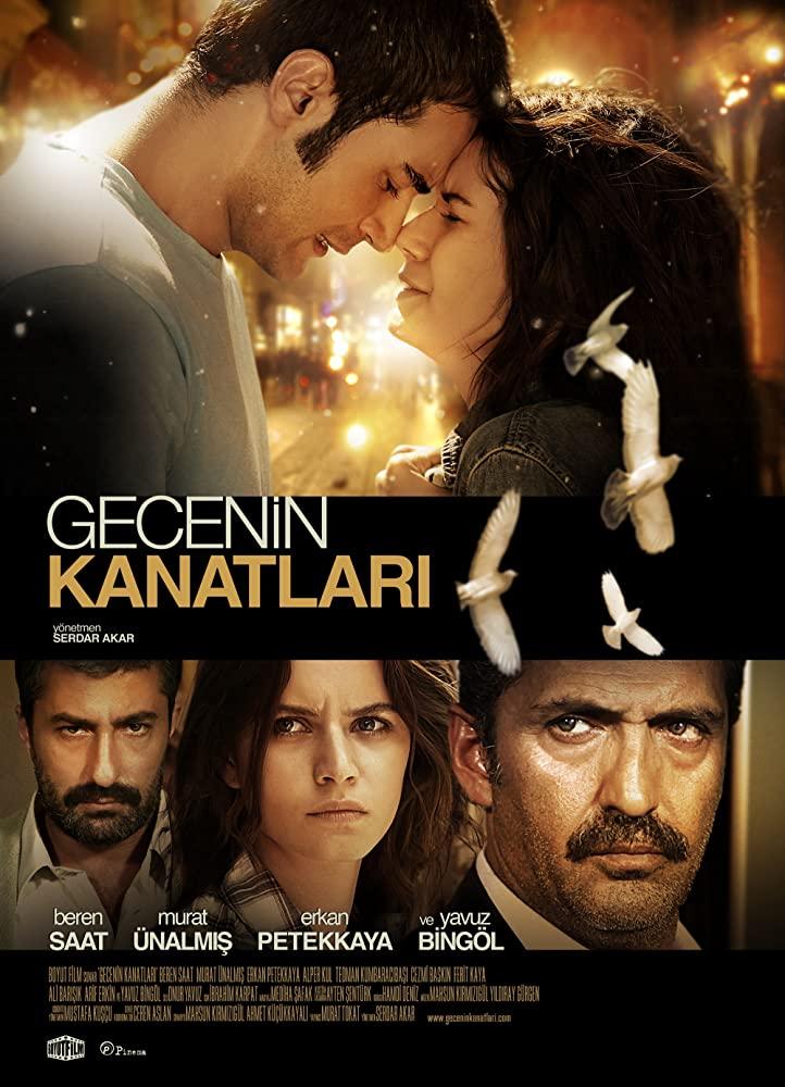 """2009 الفيلم التركي """"أجنحة الليل"""". تقرير عن الفيلم + صور للأبطال + مترجم أونلاين . أجنحة الليل مترجم."""