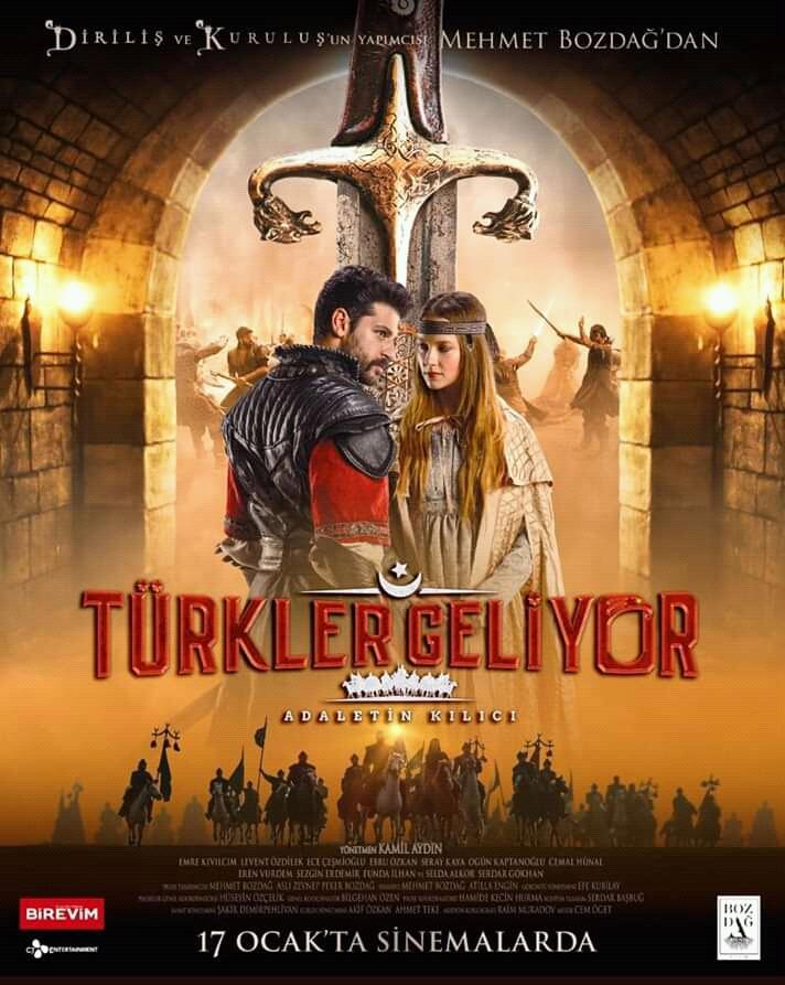 """2019 الفيلم التركي """"الأتراك قادمون"""". تقرير عن الفيلم + صور للأبطال + مترجم أونلاين . الأتراك قادمون مترجم."""